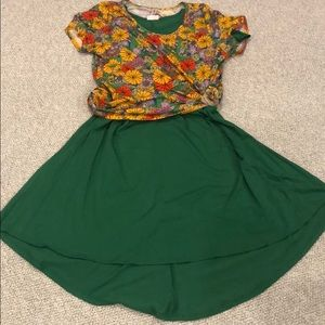 LuLaRoe Dresses - Lularoe Green Carly